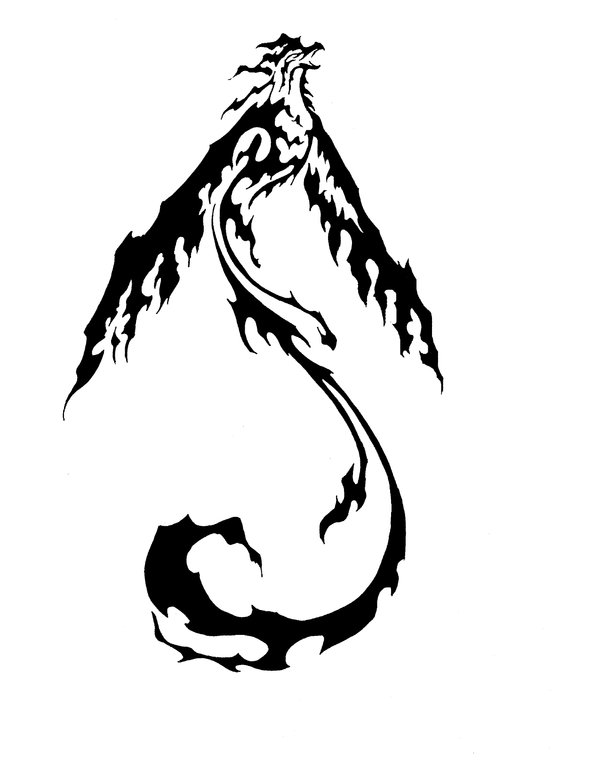 Ave f nix memorias de una persona ilustrada for Fenix tribal tattoo