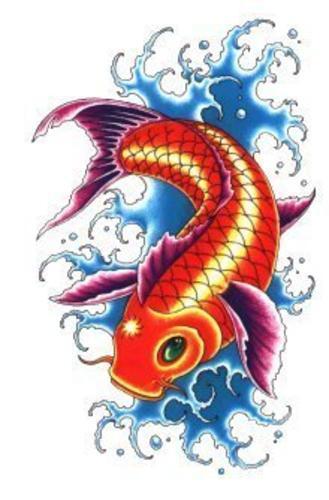 Pez koi memorias de una persona ilustrada for Imagenes de peces chinos